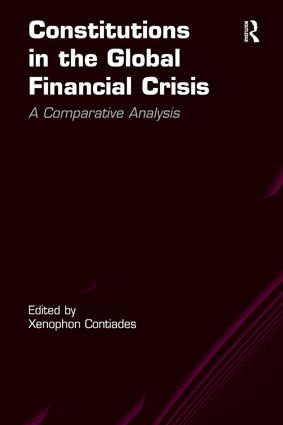 Constitutions in the Global Financial Crisis – A Comparative Analysis